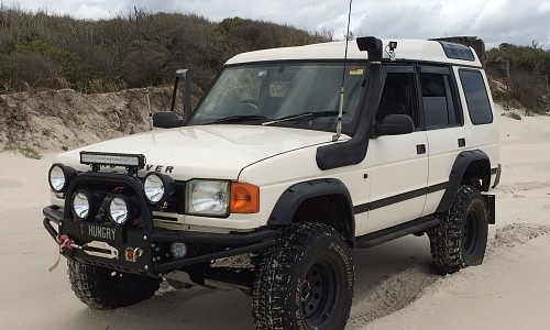 Land Rover Discovery With 2 5 Inch Suspension Lift 2 Inch
